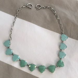 Pale green Stella and Dot necklace